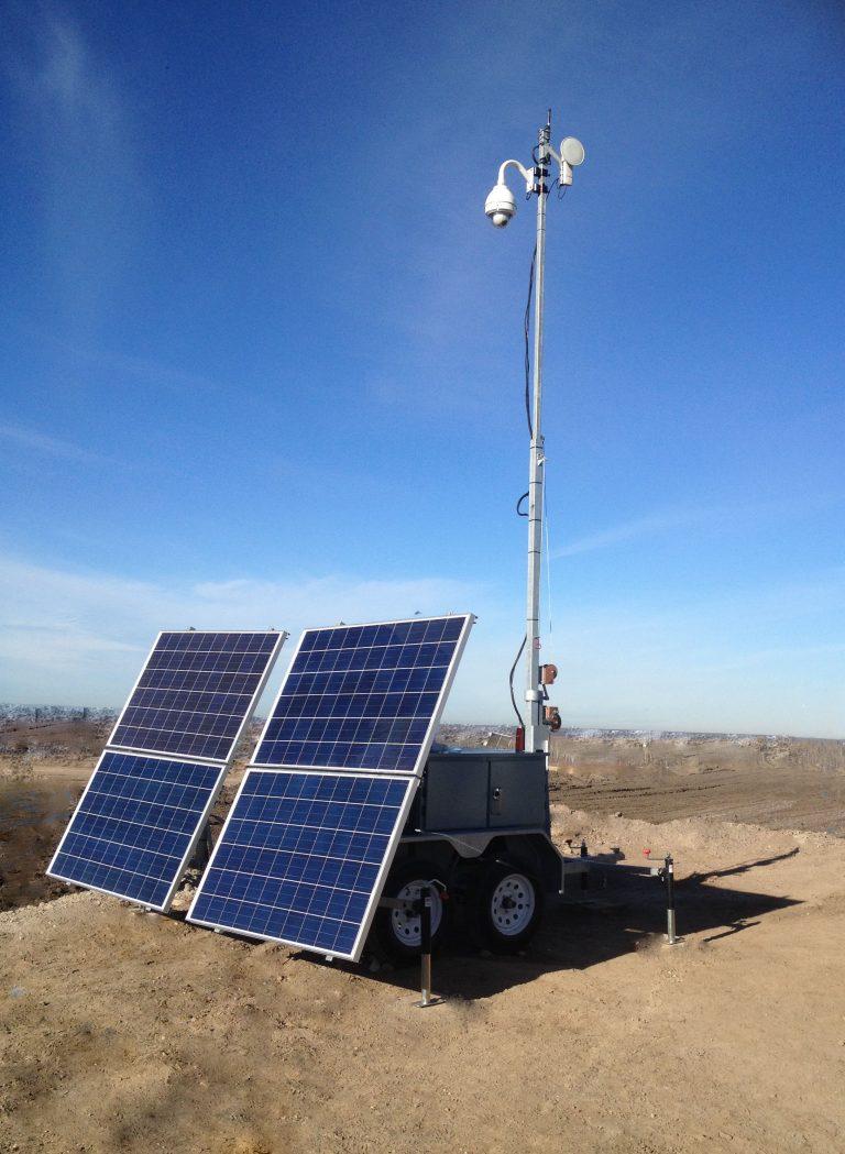 Efoy Pro Desert Sun Solar Solution