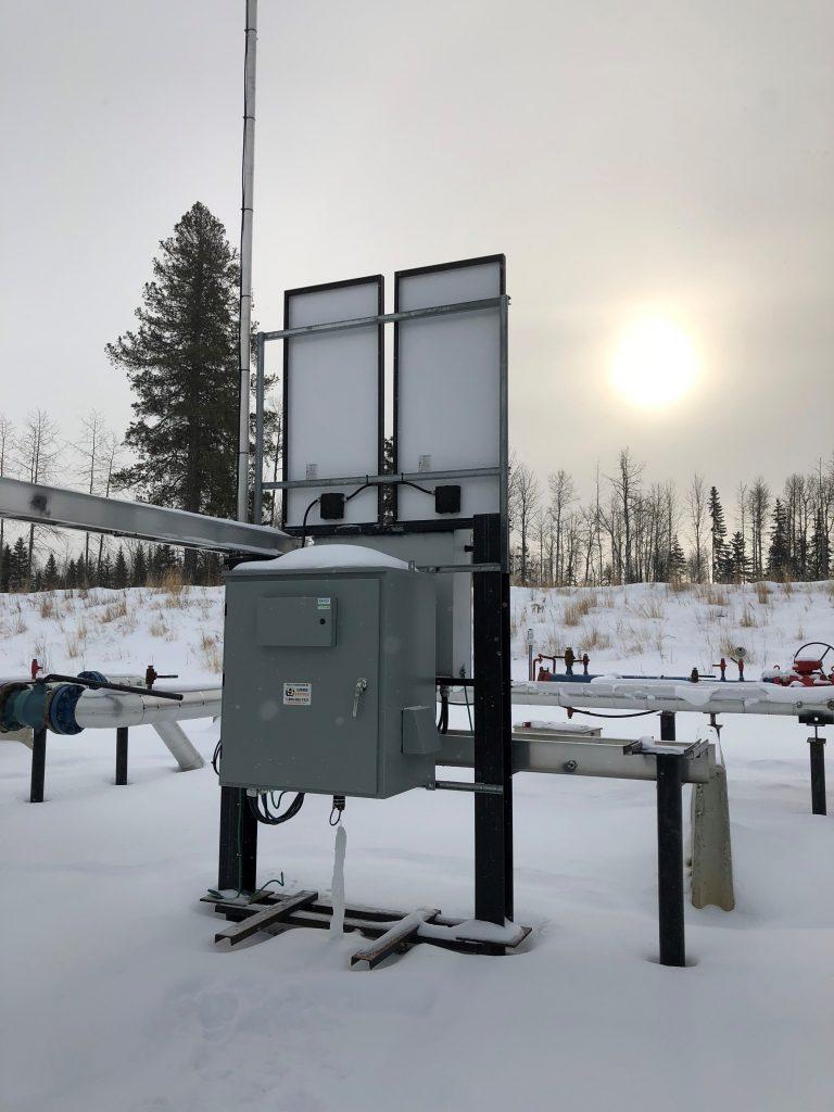 Efoy Pro Installation Snow Solar Hybrid 04