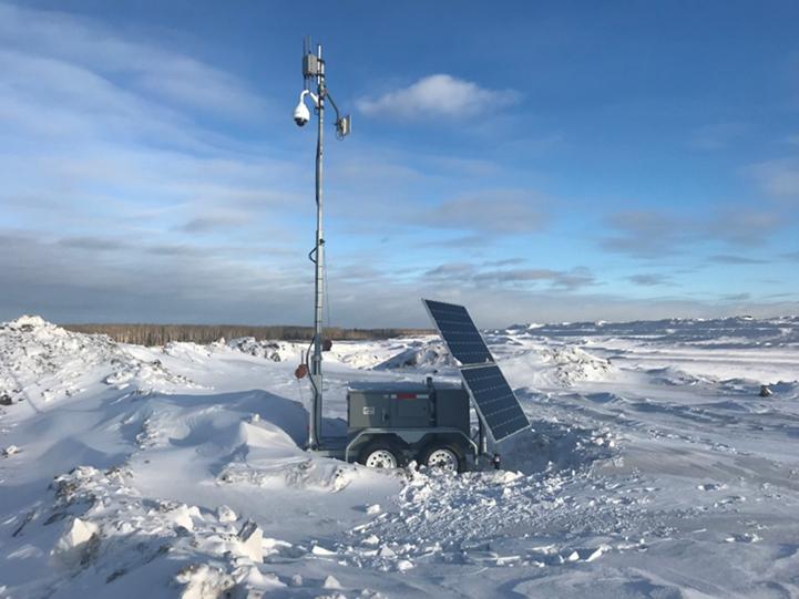 Efoy Pro Trailer Winter Deployment
