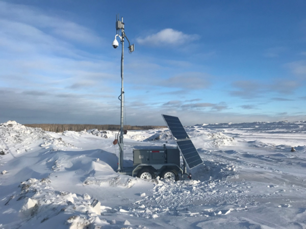 Efoy Pro Trailer Winter Deployment
